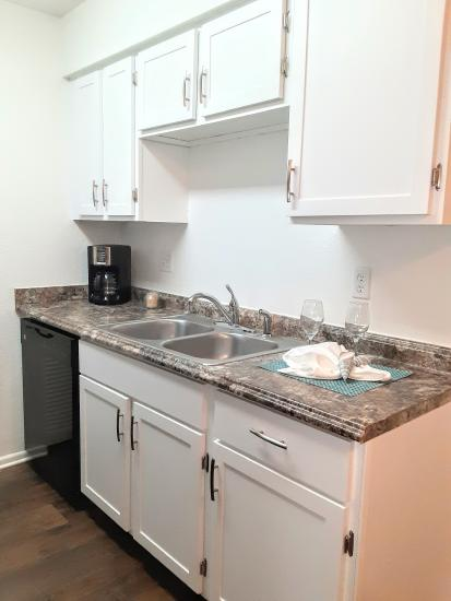 2bd/2ba Orange Blossom and Sabal Palm Kitchen - Indigo Pines
